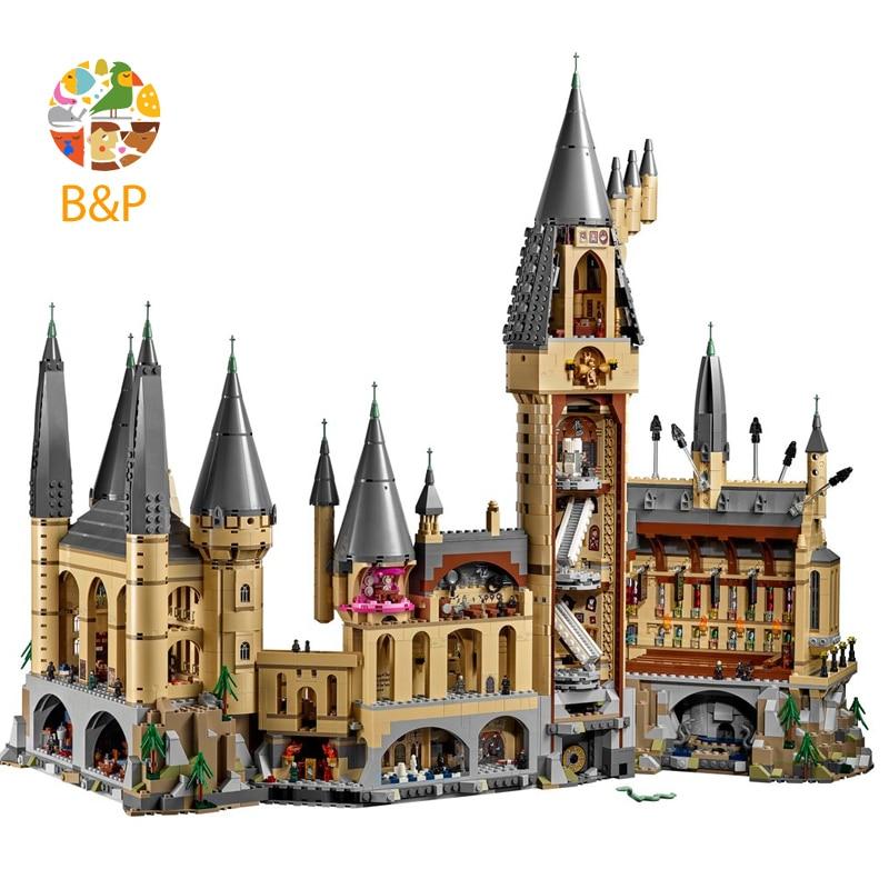 DHL LP 16012 2025 шт магическое слово Diagon Alley набор образовательных строительных блоков Кирпичи Модель игрушки Совместимые с подарками с 10217 игрушк... - 3