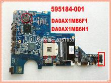 595184-001 DA0AX1MB6F1 / DA0AX1MB6H1 Voor Hp CQ62 CQ42 G42 G62 G72 Notebook 595184-001 Laptop Moederbord HM55 DDR3 G62-348NR
