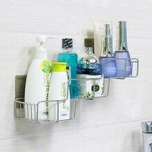 Креативная ванная комната из нержавеющей стали трапециевидный кухонный стеллаж крючки для стены стеллаж для хранения промытая полка для хранения расходных материалов дома Im