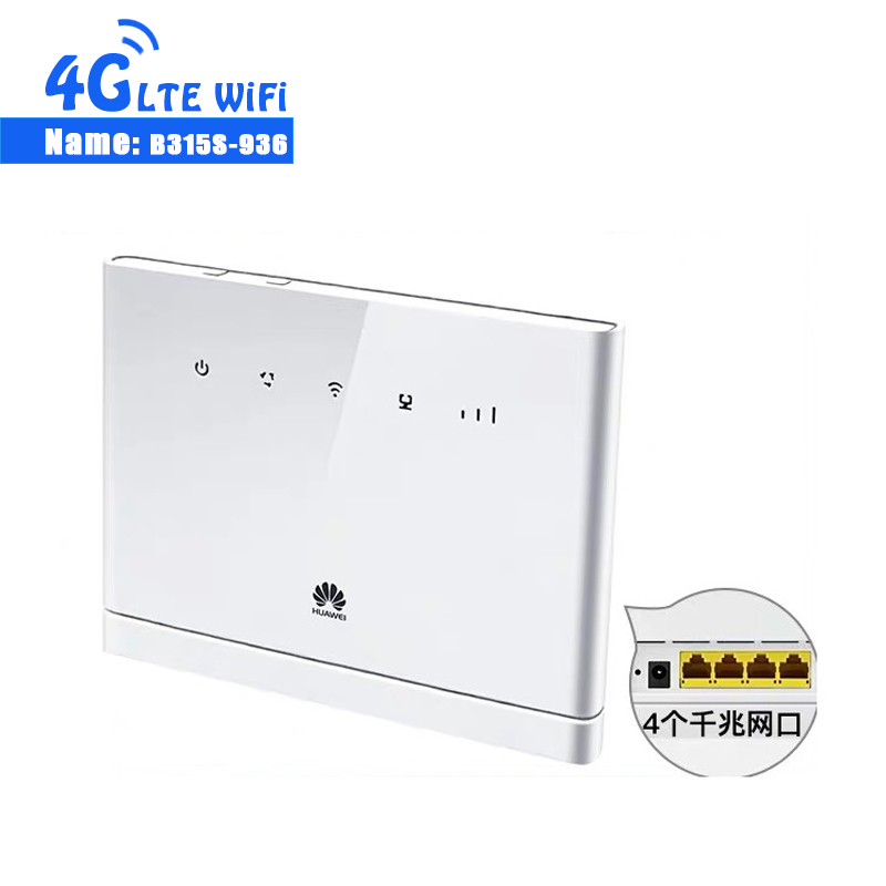 Unlocked New HUAWEI B315 B315S-936 with Antenna 4G LTE CPE 150Mbps FDD Wireless Gateway Wifi Router