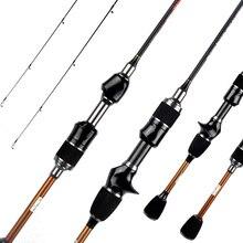 Skmially canne à pêche ultralégère flexible, canne à pêche ultralégère, avec leurre, 1,68 m 1,8 m, 1 à 5g, canne à pêche