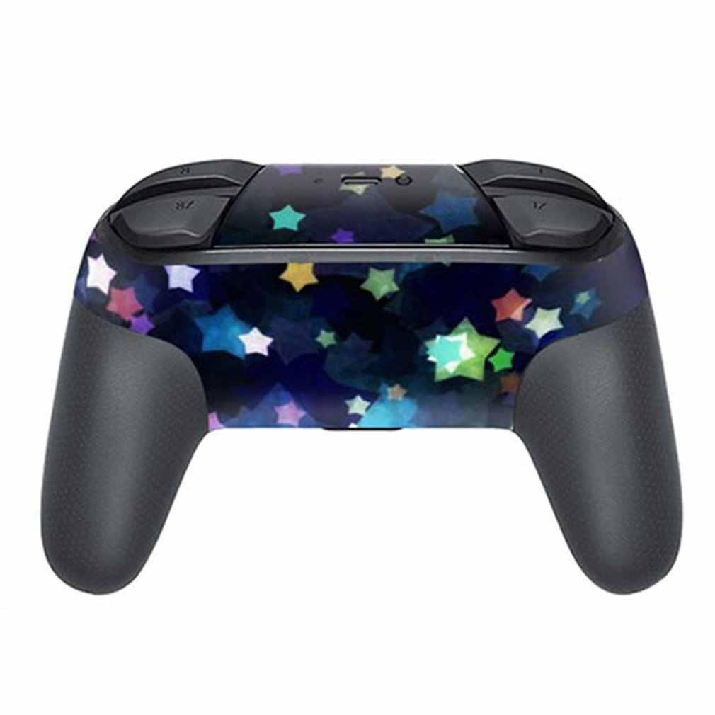 TN-KNSPRO-0217 Full Set Faceplate Skin Decal Stickers Protector Wrap Skin Decal for Nintend Switch PRO handle sticker