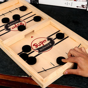 Fun Toys Puck Hockey-Sling Foosball-Games Game-Paced Adult Super-Winner for Child Family