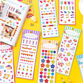 Creativ Fast Food Sticker Sheet Adhesive Labels Scrap Booking Decorating