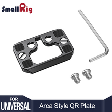 SmallRig DSLR Camera Plate Arca Style Arca-Type Quick Release for Cage as BMPCC 4K 2389