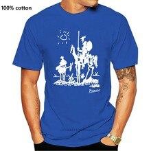 T-Shirt personnalisé, nouveauté, avec dessin de papa Picasso Don Quixote de La Mancha, 1955