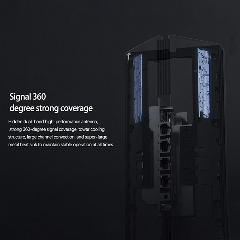 New Xiaomi AX1800 Wireless Router Mesh WIFI VPN Dual-Frequency 256MB 2.4G 5G Full Gigabit OFDMA Repeater Signal Amplifier PPPoE 5