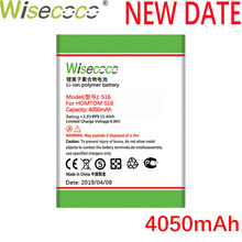 Wisecoco S16 4050mAh New Production Battery For HOMTOM S 16 Cell Phone High quality Replacement+Tracking Number