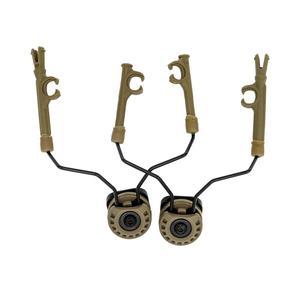 Image 2 - TAC SKY łuk łukowy uchwyt szyny do zestawu słuchawkowego COMTAC I II II IV DE