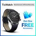 Ticwatch C2 черные Смарт-часы Bluetooth спортивные часы GPS Android и iOS Совместимость IP68 Водонепроницаемый NFC оригинал