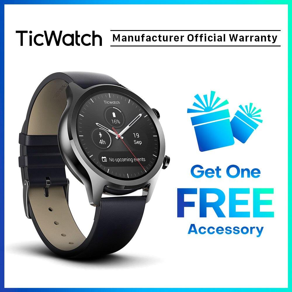 Piastre Di Tesla Funzionano 0% off) comprare ticwatch c2 nero astuto della vigilanza di