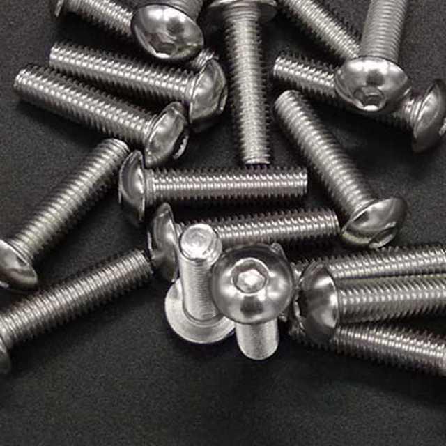 Juego de surtido de tornillos de acero inoxidable 500 unids/lote M3 M4 M5 304, tornillos con cabeza hexagonal, tornillos y tornillos para bicicleta
