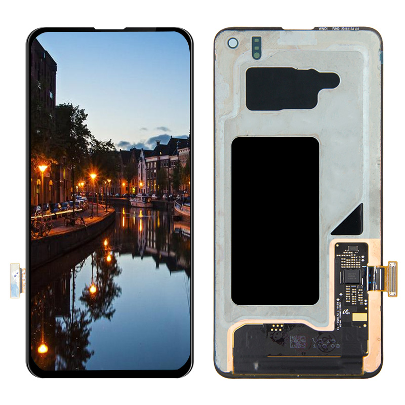 S10e LCD For SAMSUNG Galaxy S10 E G970F/DS G970W G970U <font><b>SM</b></font>-<font><b>G9700</b></font> LCD Display Touch Screen Digitizer Replacement image