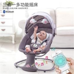Baby elektrische schaukel stuhl zu beschwichtigen smart cradle zu coax baby schlafen artefakt elektrische baby schaukel bett schaukel