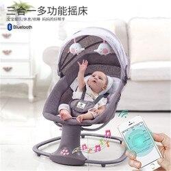 Kindje Elektrische Schommelstoel Sussen Smart Cradle Om Baby Slapen Artefact Elektrische Baby Schommelstoel Bed Swing