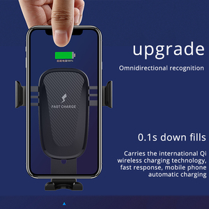 Image 3 - 10W Wireless Car Charger Stand Houder Air Vent Clip Mount Voor Samsung Galaxy Note 10 Plus Snelle Opladen Telefoon car Holder Stand