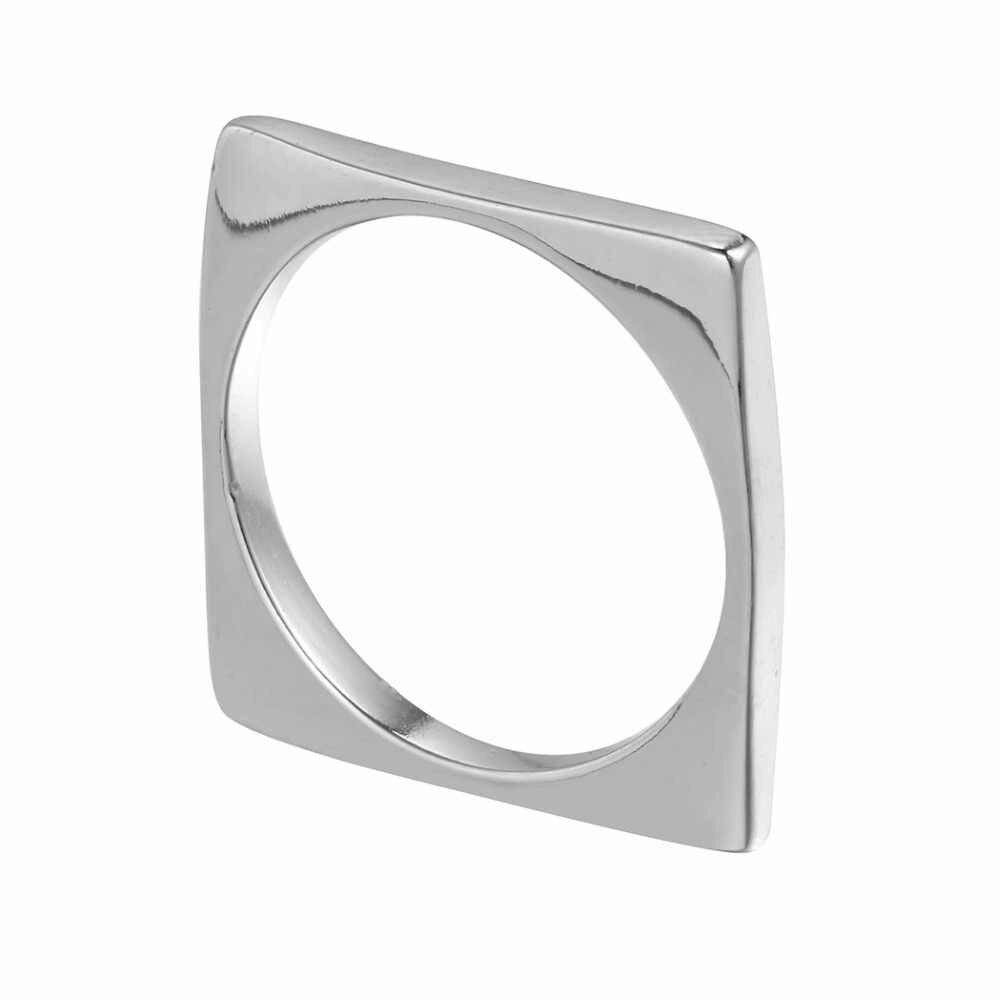 Прекрасный счастливый Смайл лицо колокольчик Висячие модное кольцо для женщин регулируемое обручальное обручение Рождественский подарок модные серебряные кольца