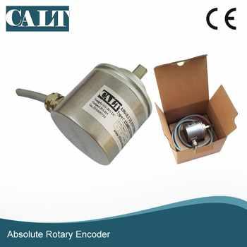 CALT 16 bit high resolution SSI optical single turn angle encoder