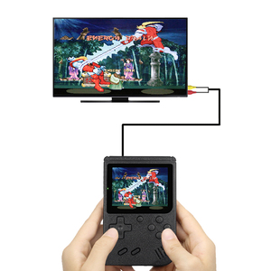 Image 2 - Built in 400 games Retro Portable Mini Handheld Video Game Console 8 Bit 3.0 Inch Color LCD Kids Color Game Player