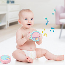Baby Piano Music Keyboard Hand Drum Musical Instrument Educational Learning Toy Handbell Toys for Children Christmas Gift(China)