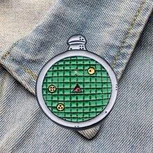 DZ429 детектор эмалированные булавки броши для женщин и мужчин рюкзак сумки значок модные лацканы аниме Ювелирные изделия Подарки для детей