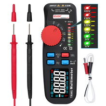 ADM92CL PRO 6000 Counts TRMS Professional Dual Mode Digital Multimeter Tester Mini Voltage Current Resistance Frequency Meter