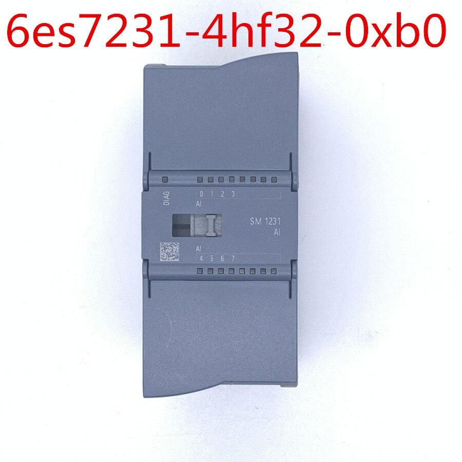 Original S7 1200 Analog input SM 1231 Module 6ES7231 4HF32 0XB0 6es7231 4hf32 0xb0 1200 module 12 bit+sign (13 bit ADC) - 2