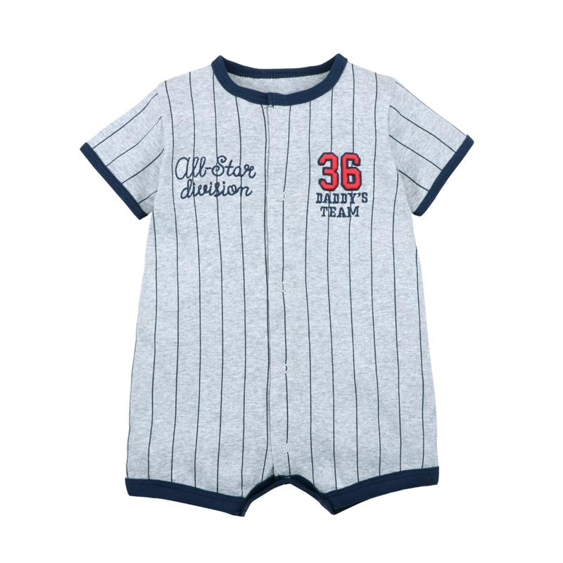 Brand Summer 2020 baby boys clothes cotton Jumpsuit Short sleeve Roupas  Menino for Baby Boy Body overalls , 0-24M baby rompers | Happy Baby Mama