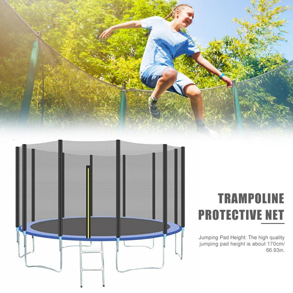 Haute qualité saut Trampoline filet de protection maison enfants intérieur extérieur adulte Trampoline sécurité protection PE Net pépinière - 6