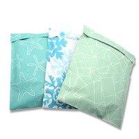 10 stücke Farbe Express Taschen 26x33cm Kunststoff Poly Mailer Umschlag Selbst Dichtung Postsäcke Post Verpackung Versand kurier Tasche