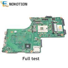 NOKOTION GL10FG 6050A2492401 MB A02 V000288220 1310A2492460 لتوشيبا P870 P875 اللوحة المحمول SLJ8E DDR3