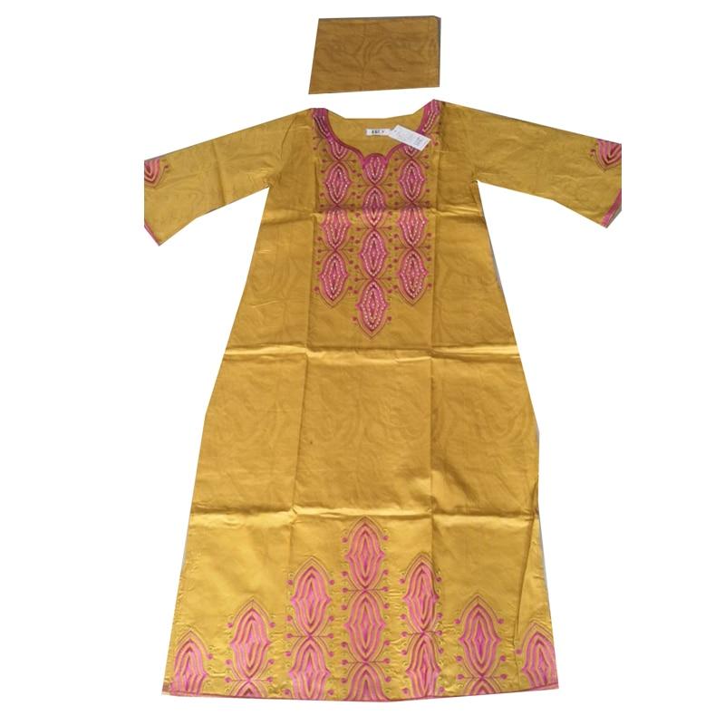Image 3 - MD 2019 nouvelles robes pour les femmes robe longue africaine bazin dashiki vêtements robe de soirée de mariage tenue de grande taille traditionnelleVêtements style africain   -