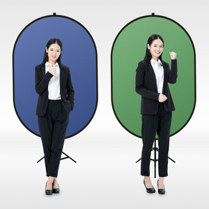 Image 3 - ZUOCHEN Photography Chromakey Backdrop Cotton Background Green Blue Screen +2in1 Reflector For Facebook Live Photography