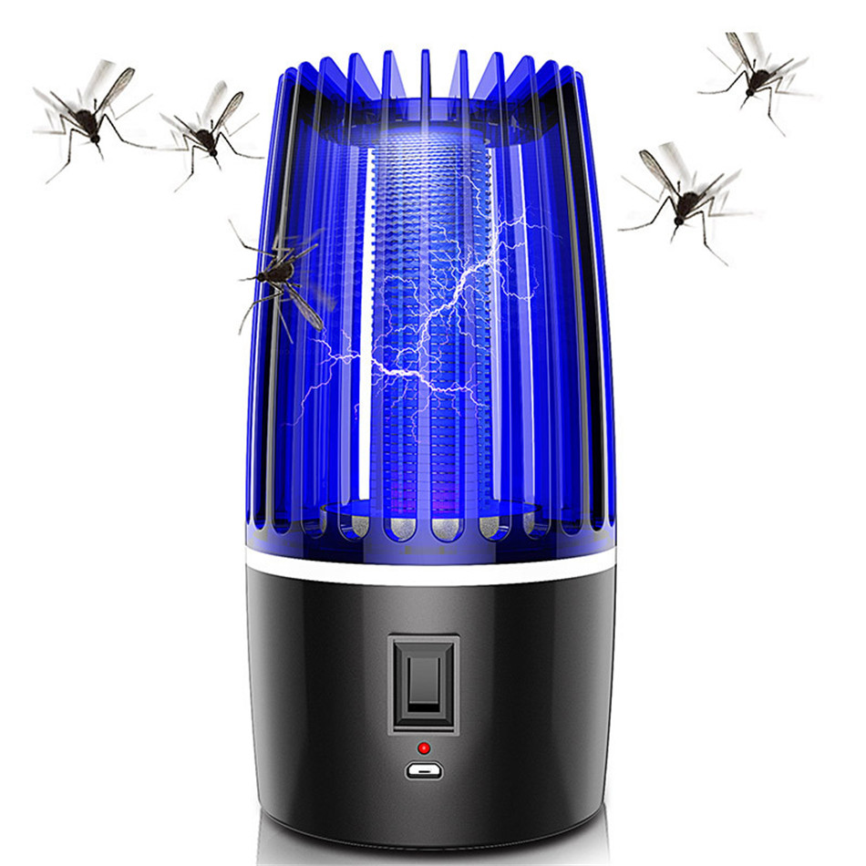 USB Mosquito lamp UV light insecticidal lamp Physical mosquito killing Mute Radiationless Insect kil
