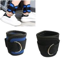Эспандер для бодибилдинга, d-образное кольцо, ремешок на лодыжке, с пряжкой, для спортзала, новейшая, мульти, бедра, ноги, манжеты на лодыжке, силовая, тяжелая, для фитнеса, веревка