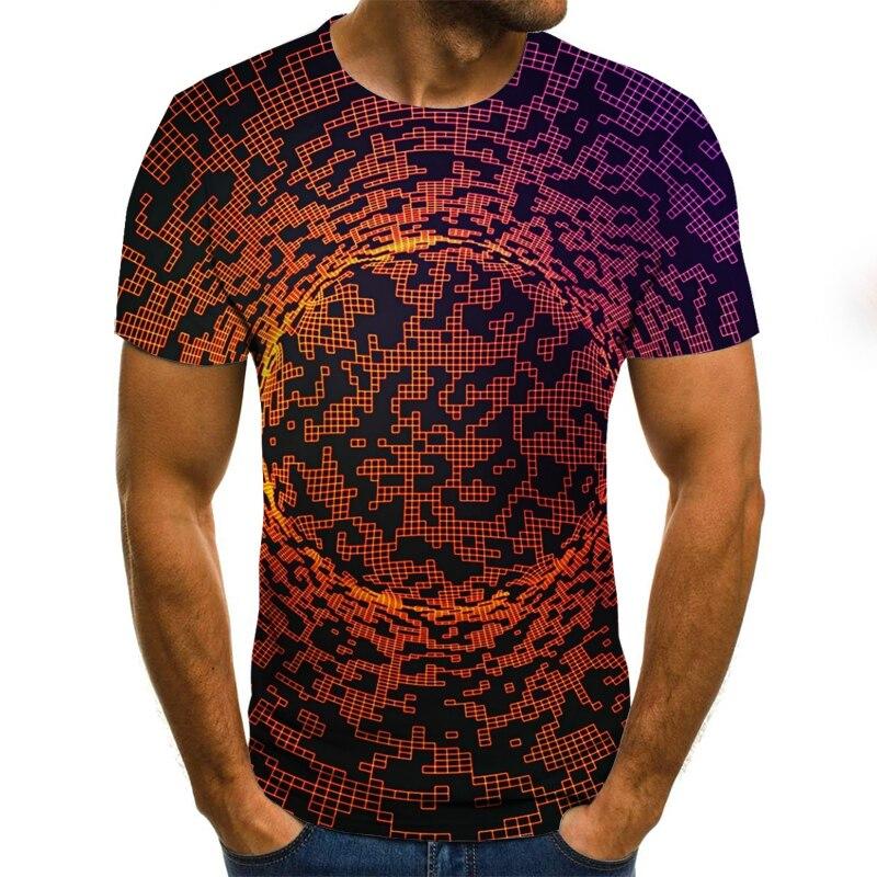 2020 Summer 3D Printing Men Tshirt Brand Casual 3D Printed Tshirt Men Animal Tops Tees Male Tshirt Street Clothing Plus Size