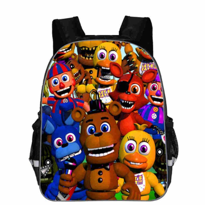 New Kids Five Nights At Freddys Backpacks Anime Fnaf Backpack Boys Girls School Bags Children Book Bag Mini Daily Backpack