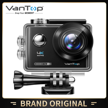 VanTop Moment 4U 4K Action Camera 20MP  Underwater Waterproof Camera with Wifi Touch Screen Wireless Remote 170° Wide Angle Cam