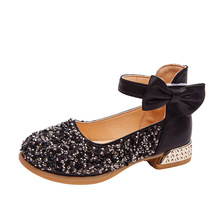 2019 Sequin Children Shoes For Girls Shoes For Party And Wed