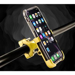 Image 4 - Универсальный держатель для мобильного телефона из алюминиевого сплава, Кронштейн для мобильного телефона мотоцикла, автомобильный навигационный кронштейн
