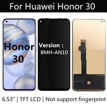 TFT LCD עבור Huawei Honor 30 BMH AN10 LCD תצוגת מסך מגע החלפת אביזרי הרכבה