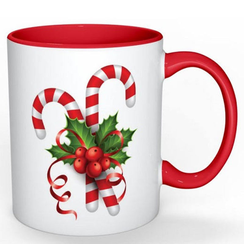 Coffee Mug Holiday Christmas Candy