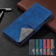 Nova7i luksusowe skórzane Etui na telefony dla Huawei Y7p 2020 P 40 P40 Lite E Pro Honor 9C Nova 7i 6SE portfel odwróć pokrywa Coque Etui