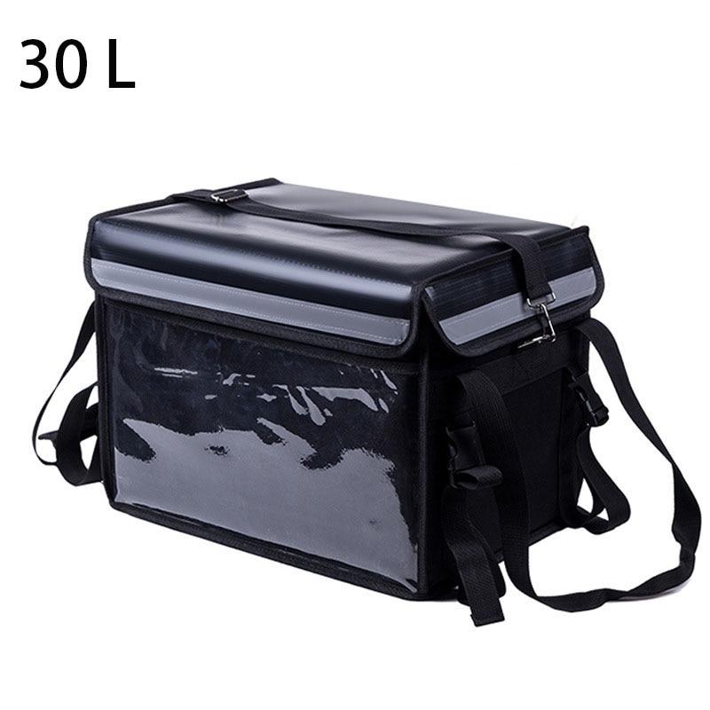 30L Extra grand sac isotherme voiture glace Pack isolé thermique déjeuner Pizza sac frais alimentaire livraison conteneur réfrigérateur sac