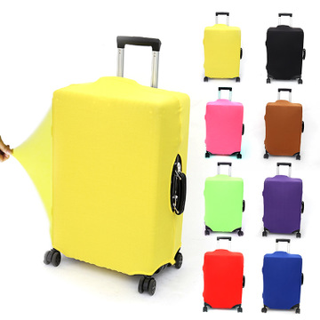 Travel suitcase dust cover Luggage Protective Cover For 18-30 inch Trolley case dust cover Travel Accessories Solid color