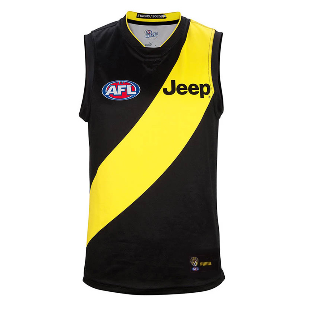 AFL RICHMOND TIGERS 2019 HOME JERSEY size S-3XL Print custom names and numbers Top quality Free shipping(China)