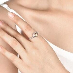 Image 5 - Zultanite bague en argent pour femmes, changement de couleur, pierre de mariage S925, 2.3 Carats, créé par la mode