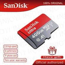 Sandisk-carte micro sd, 16 go/32 go/64 go/200 go/128 go/256 go, classe 10, 98 mo/s, carte mémoire, cadeau gratuit