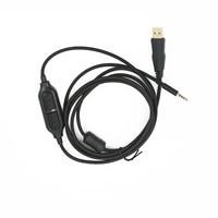 Redragon H510 Zeus Cable USB Original con control de volumen de Audio macho de 3,5mm AUX Jack a USB 2,0
