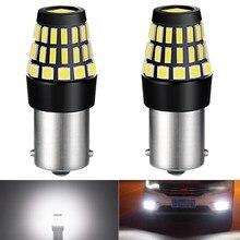 2x p21w led 1156 ba15s lâmpadas led carro drl tempo dia correndo lâmpada volkswagen vw polo passat b5 b6 cc golf 4 5 6 7 jetta mk6 tiguan